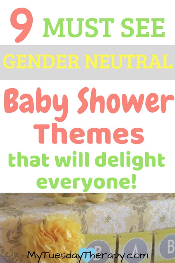 Gender neutral baby shower themes. These Ideas will help you to host the most amazing baby shower! (image credit: we heart parties)