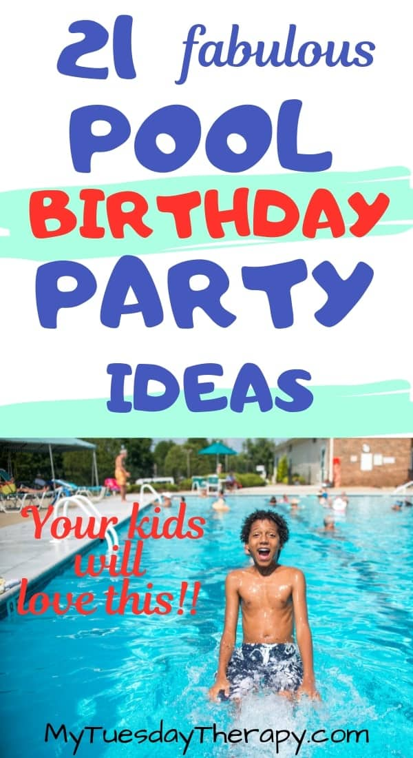 Awesome Pool Birthday Party Ideas Your Kids Will Love