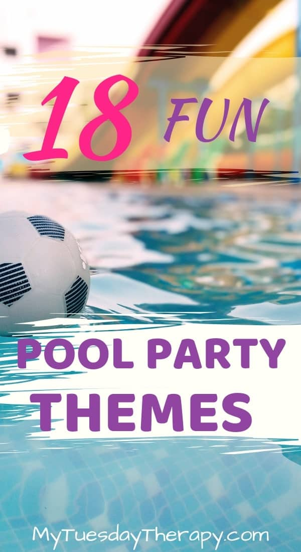 18 Fun Pool Party Themes