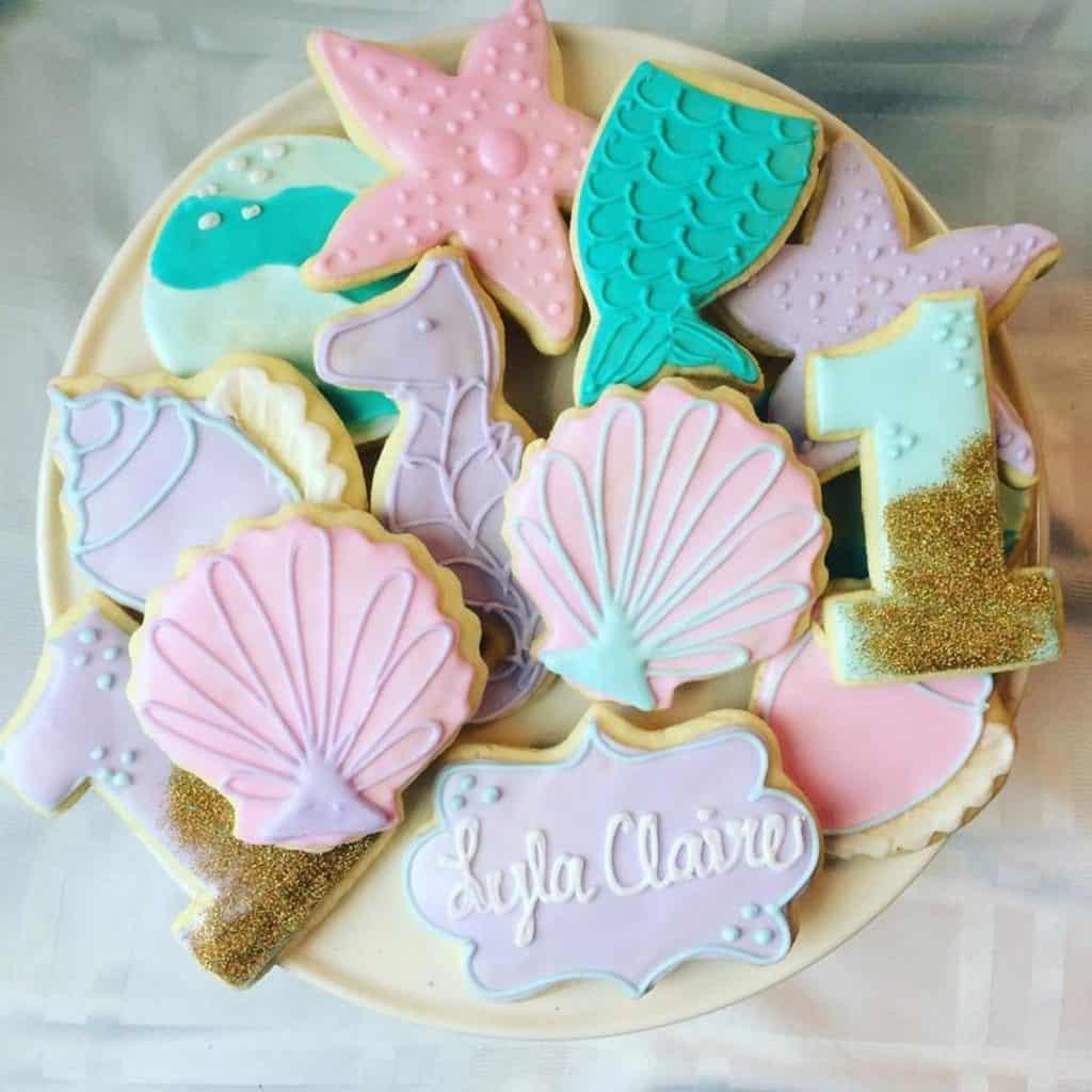 Under The Sea Party Cookies (daintycakesbyandrea)