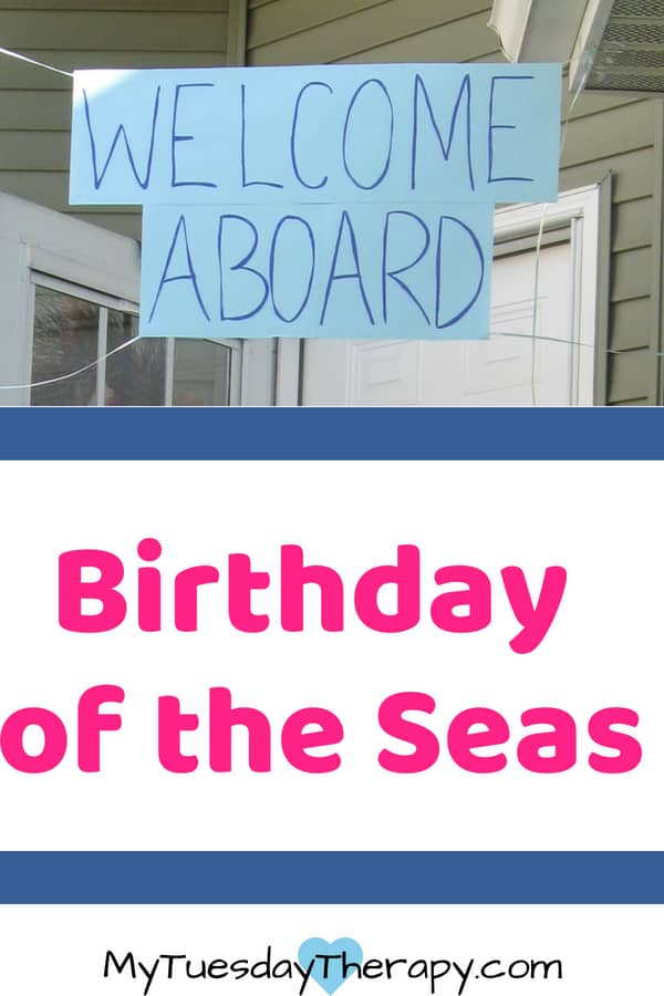 Cruise Party: Birthday of the Seas. Welcome aboard on an imaginary cruise filled with fantastic activities!