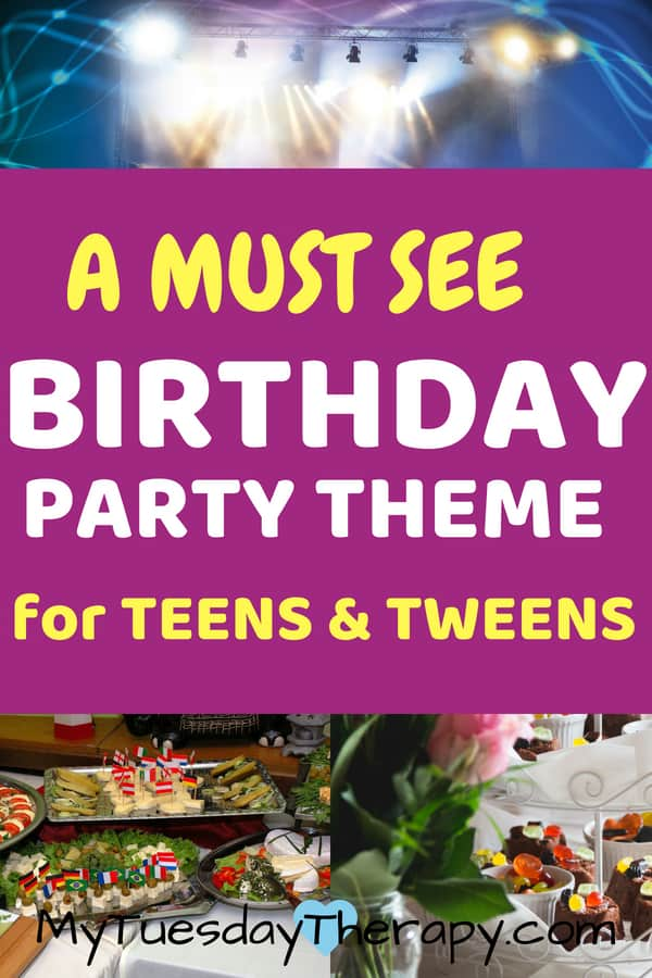 Teen girl birthday party ideas. Lots of ideas for birthday party activites for kids.