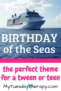 13th Birthday Party – Cruise Theme