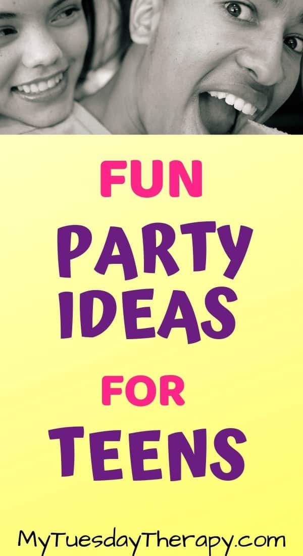 Fun Party Ideas For Teens