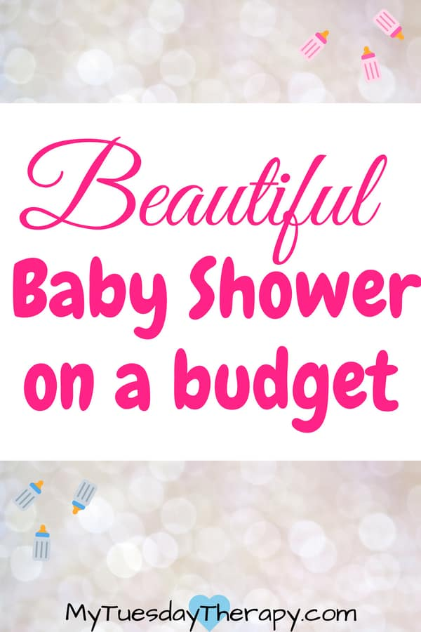 Host a beautiful baby shower on budget. Easy decoration ideas. Baby shower games cheap.