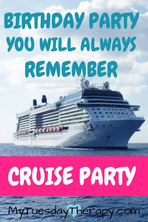 Birthday Party You Will Always Remember: Cruise Party