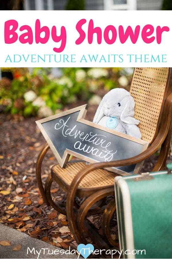Greatest Adventure Baby Shower. Lovely ideas for a travel themed baby shower.