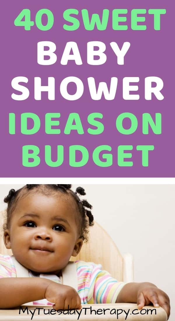 Baby Shower Ideas On Budget