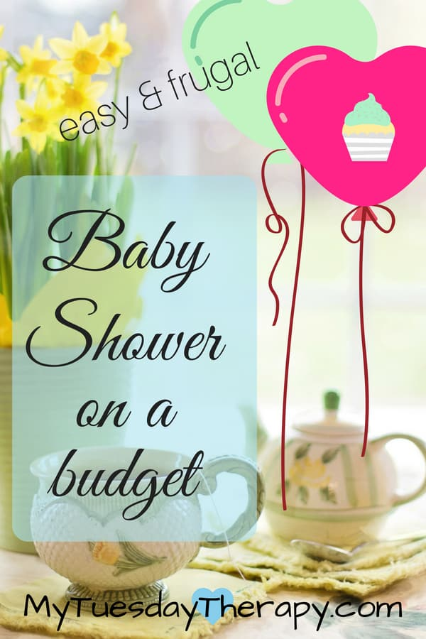 Baby shower on a budget. Cheap baby shower ideas for decorations, games, favors...