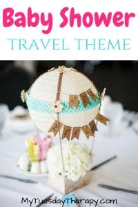 Travel Themed Baby Shower – Adventure Begins