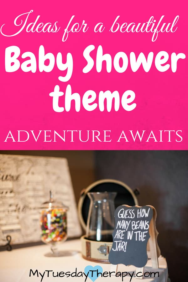 Adventure Begins Baby Shower. Looking for ideas for a vintage travel baby shower? The mom to be will treasure the memories made in this vintage travel baby shower.
