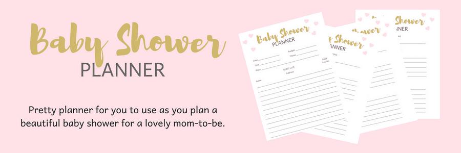 Baby Shower Planner.