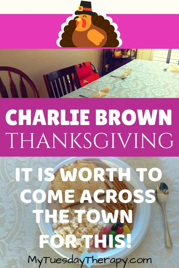 Charlie Brown Thanksgiving. Fall Fun for the Family!! This party will have you all laughing. A great and easy way to celebrate Thanksgiving with kids. They will love it.