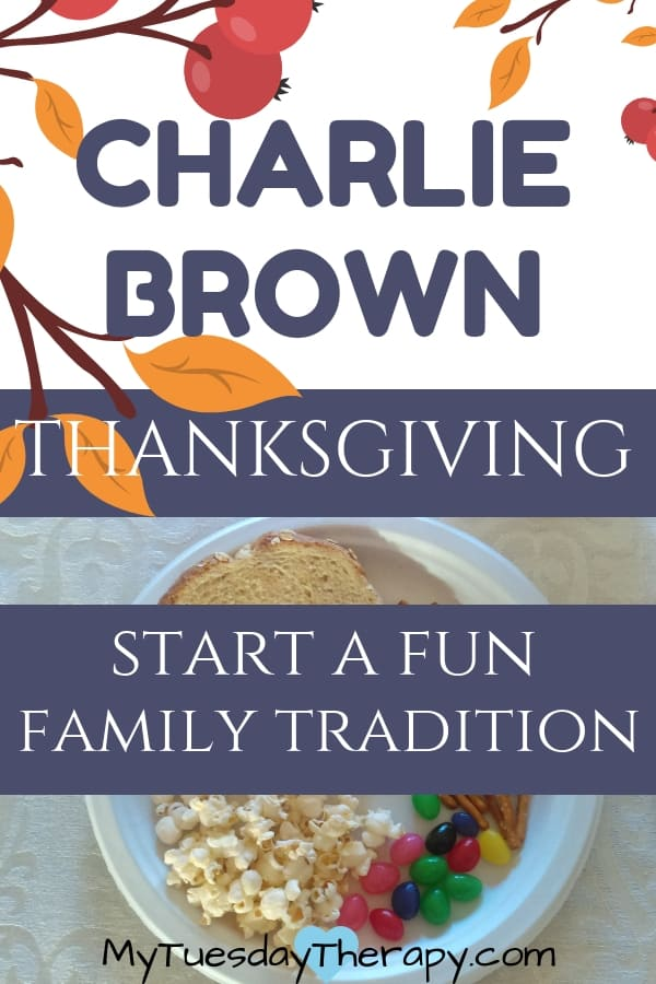 Charlie Brown Thanksgiving. Host a fun-filled Charlie Brown party! This is a great fall faimily tradition that will bring a smile on your face!