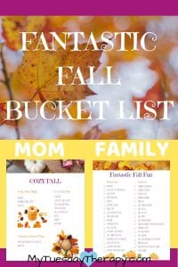 Fall Bucket List Ideas for the Whole Family – Printable