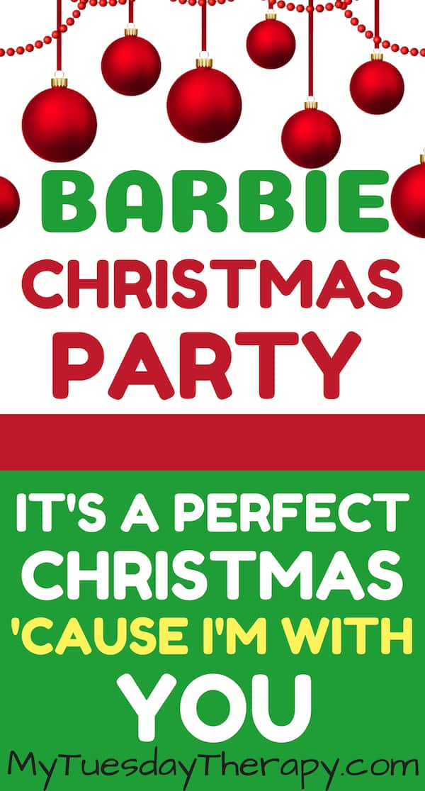 Barbie Christmas Party for Kids