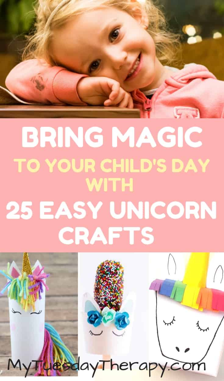 Bring Magic to Your Child's Day With 25 Easy Unicorn Crafts.