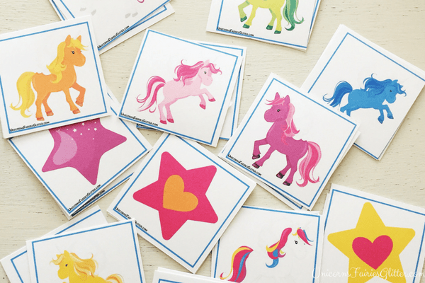 Unicorn Memory Game
