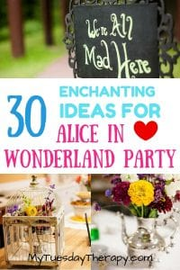 30 Enchanting Alice In Wonderland Party Ideas