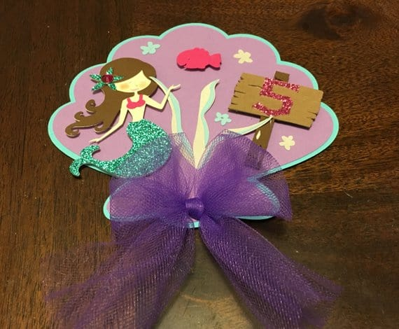 Mermaid Invitation for Under the Sea Party