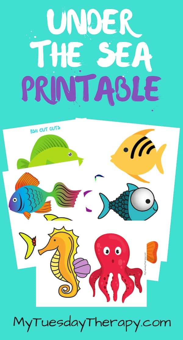 Under The Sea Party Printables.