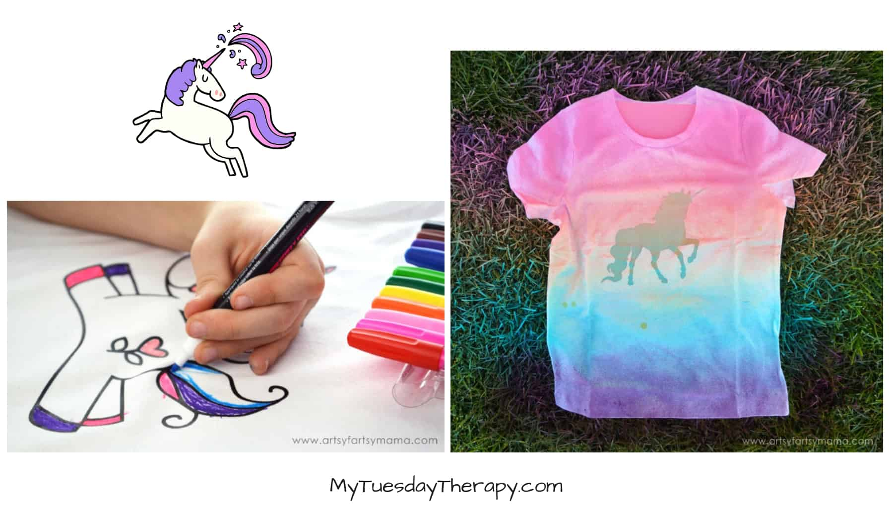 Unicorn Shirts DIY
