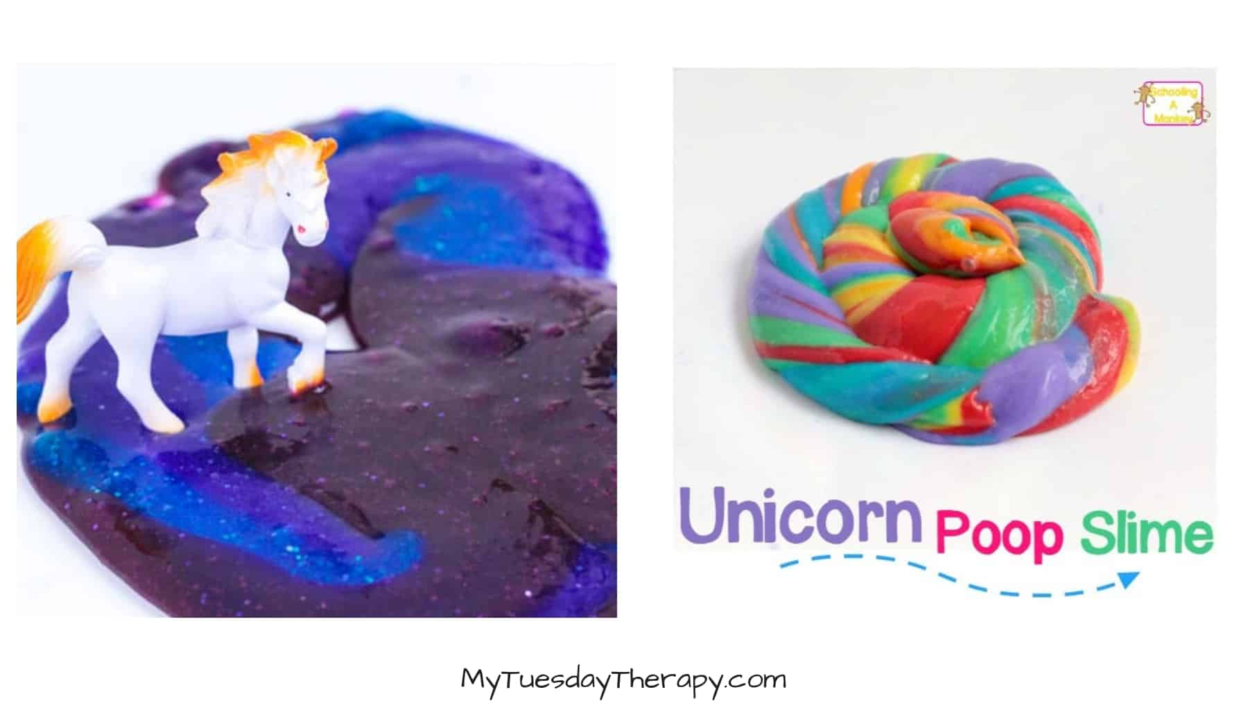 Unicorn Slime Recipe.