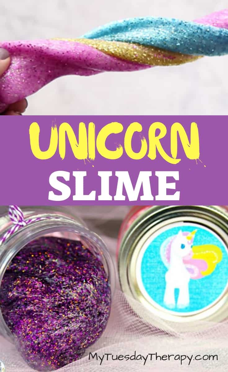 Unicorn Slime DIY