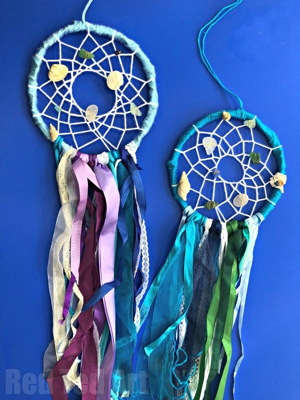 Mermaid Dreamcatcher DIY