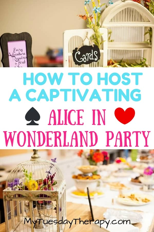 How To Host A Captivating Alice In Wonderland Tea Party.