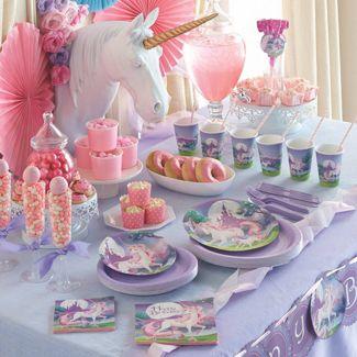 Unicorn Party Ideas. Unicorn party decoration kit.