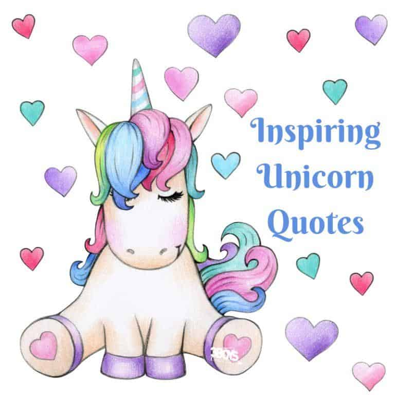 Inspiring Unicorn Quotes. Cute and funny quotes. (3boysandadog)