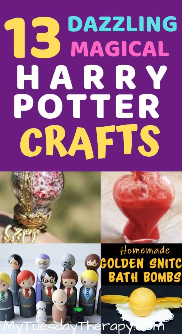 Harry Potter Crafts for Your Harry Potter Party