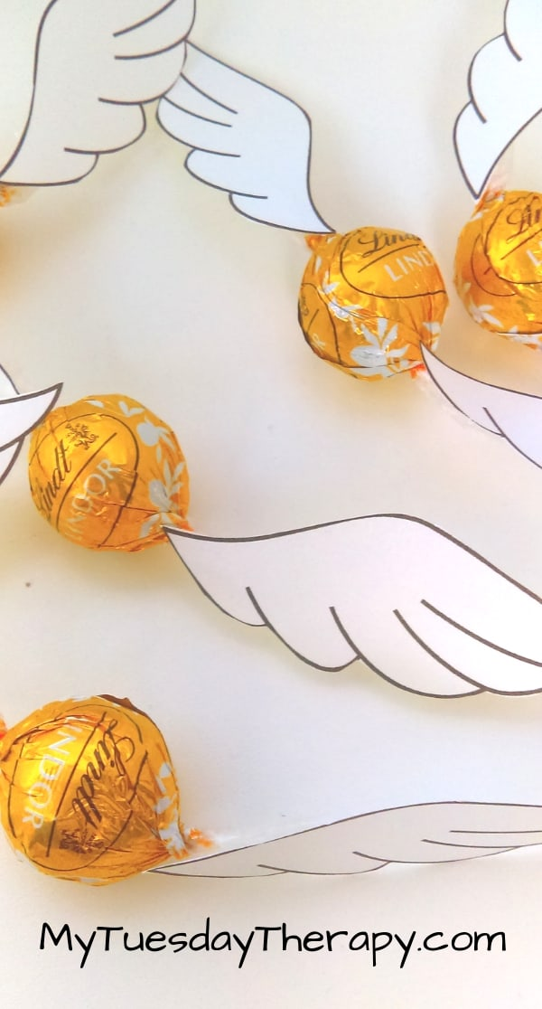 Chocolate Golden Snitch for Harry Potter Party Game