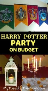 Host a Magical Harry Potter Party On Small Budget
