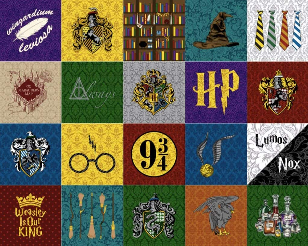 Harry Potter DIY Gift Quilt (fandom fabric)