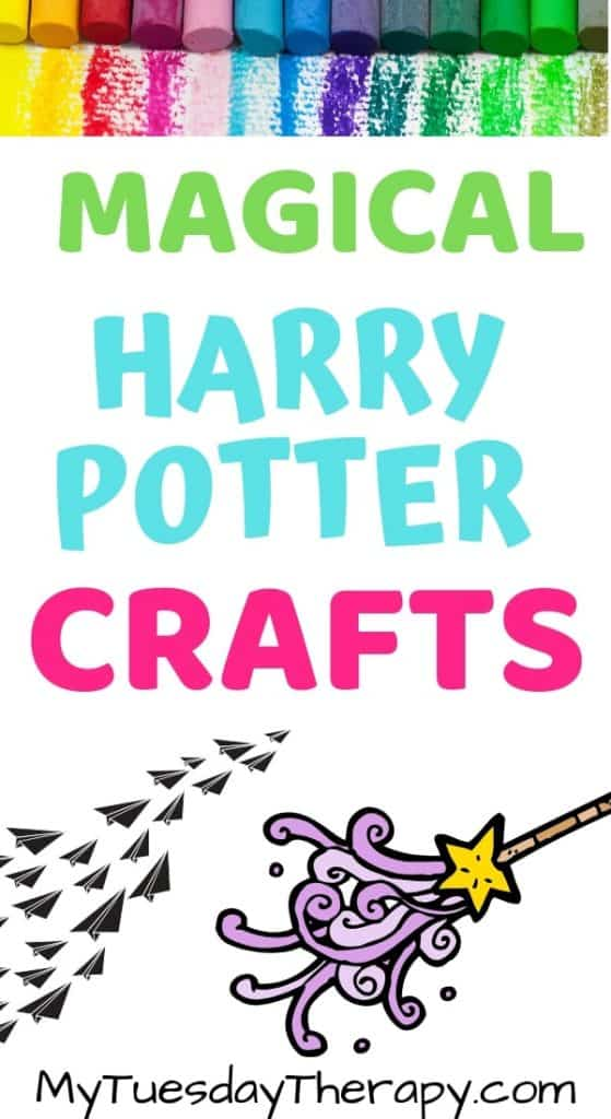 graphic about Harry Potter Activities Printable called 21 Harry Potter Crafts And Things to do Any Muggle Can Do