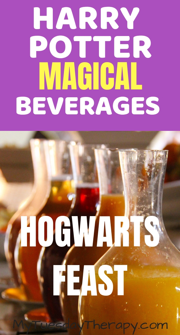 Harry Potter Magical Beverages. Hogwarts Feast.
