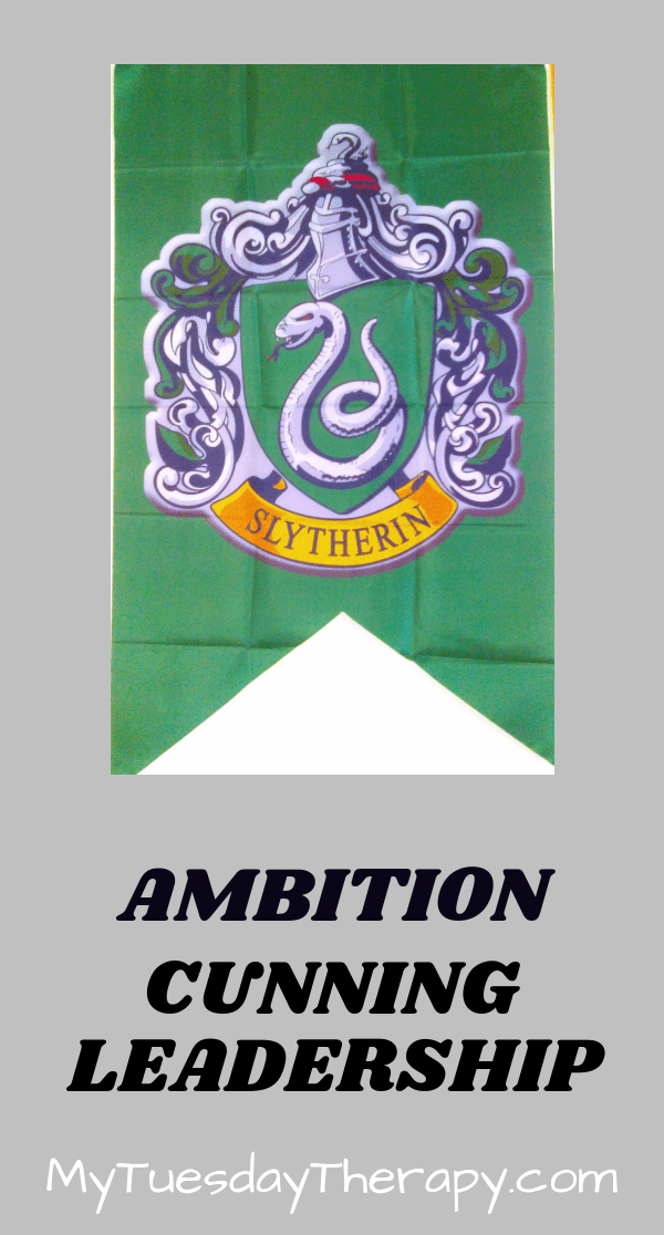 Slytherin Traits Ambition, Leadership, Resourcefulness