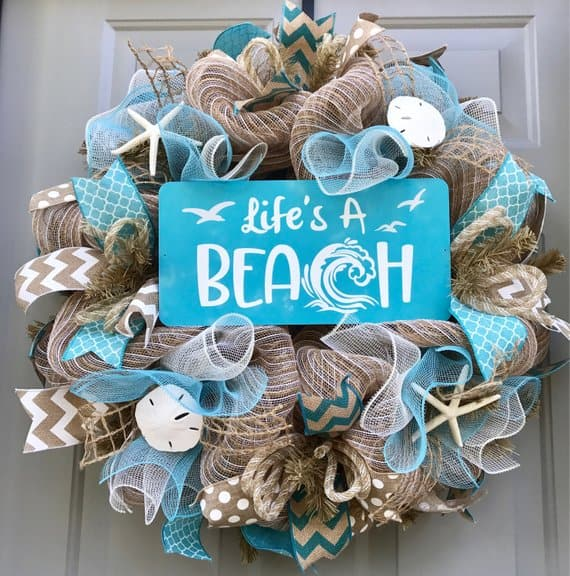 Life's A Beach Baby Shower Theme.