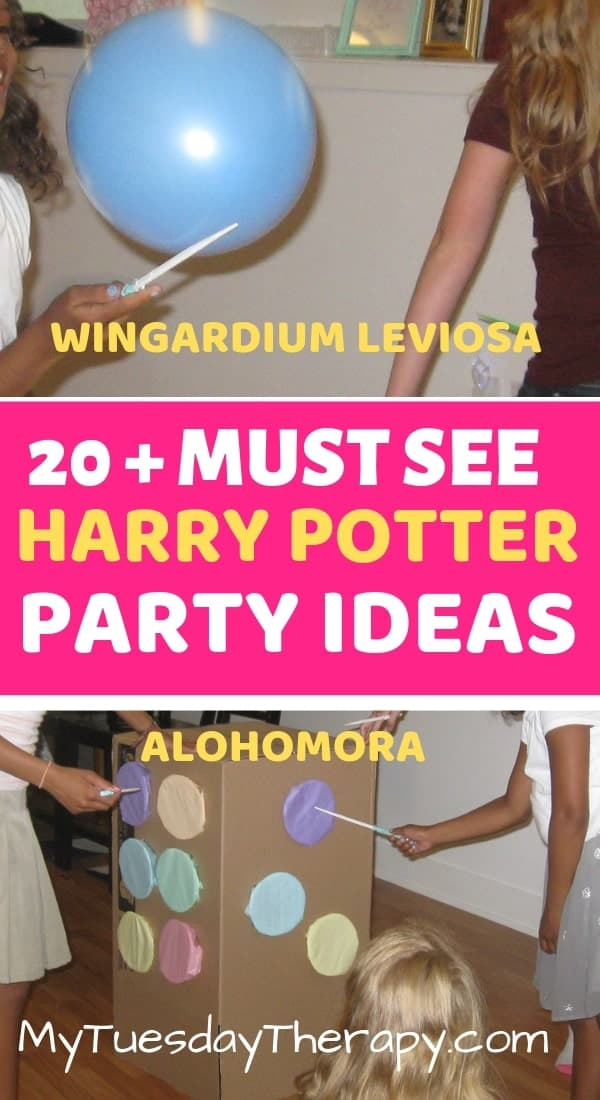 Whip Out Your Wands and Do Magic! Harry Potter Charms class ideas for the most amazing Harry Potter Party! Wingardium Leviosa! Alohomora!
