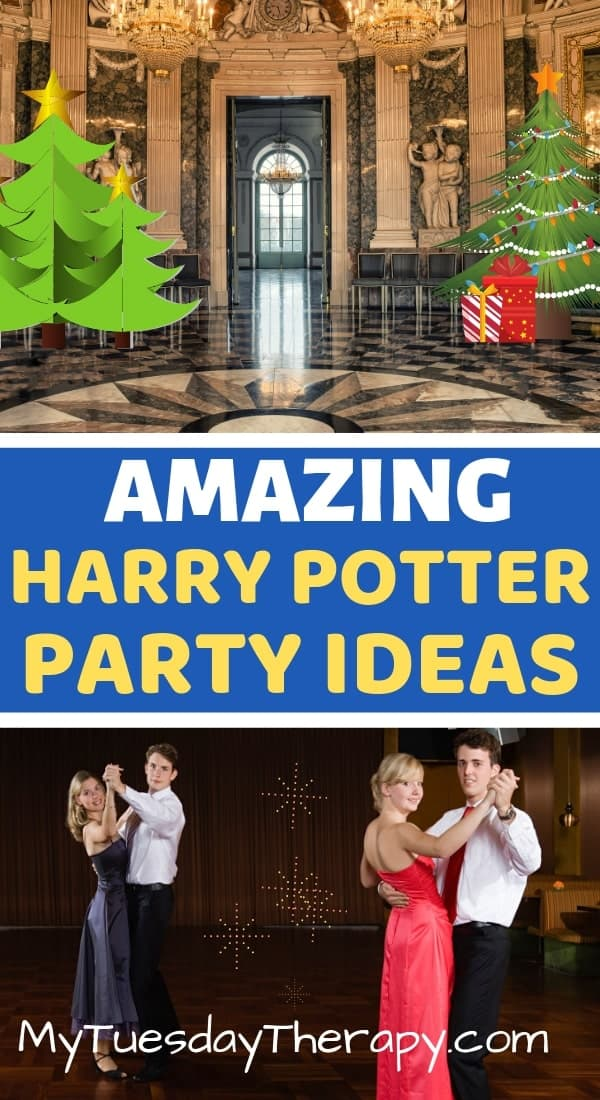 Yuleball at Hogwarts. Harry Potter Party Ideas.
