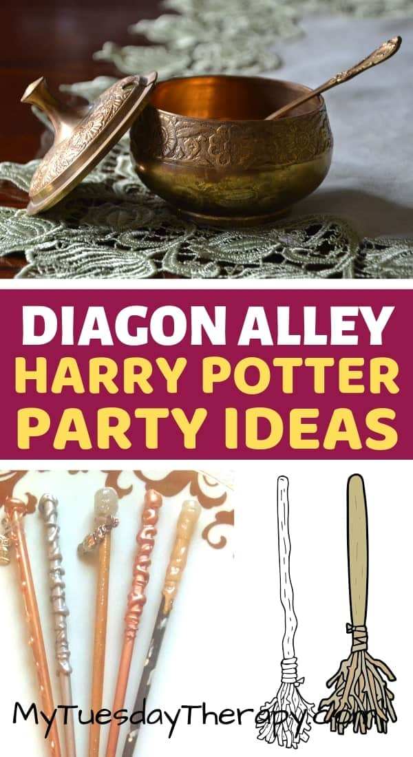 Harry Potter Party Ideas. DIY wands.