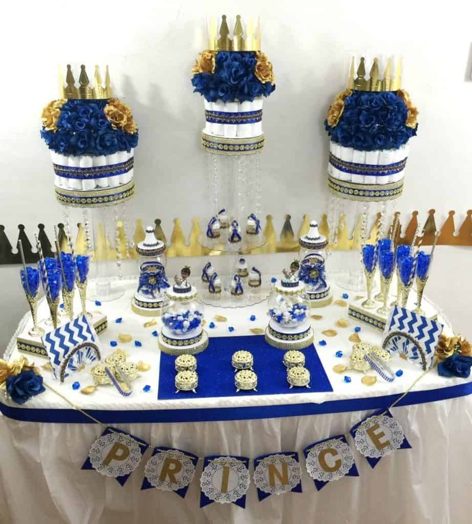 Royal Prince Baby Shower Ideas (platinumbabyshowers)