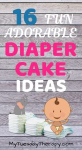 Fun Diaper Cake Ideas.