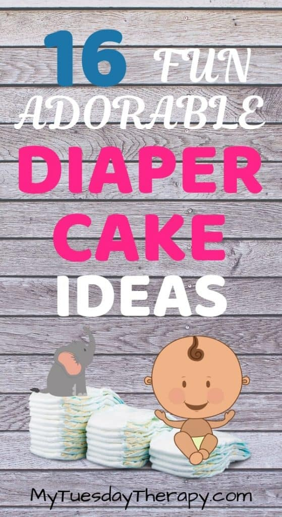 Fun Diaper Cake Ideas.