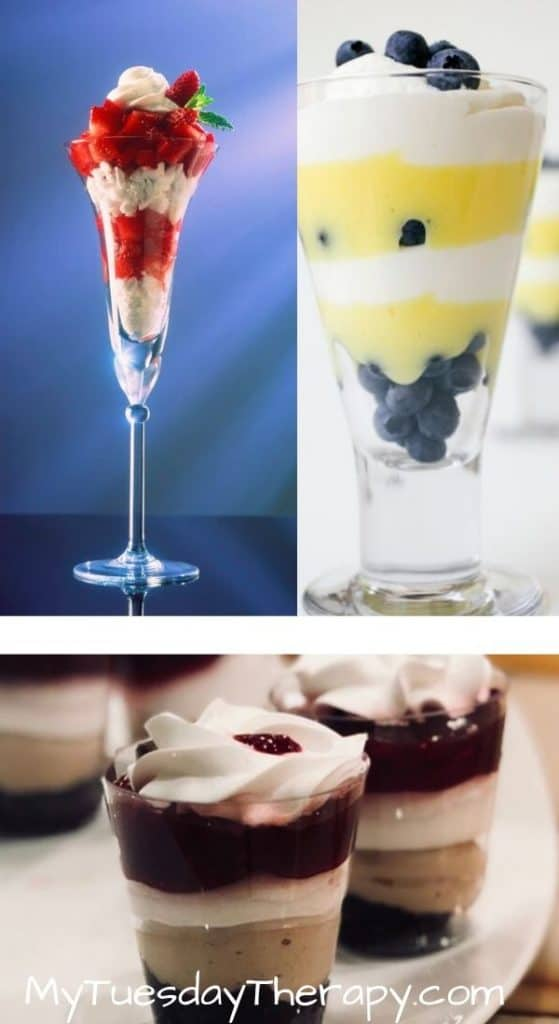 Cheap Baby Shower Food Ideas. Parfaits