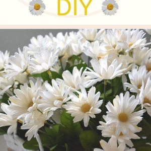 Daisy Basket DIY. Spring Decorations.
