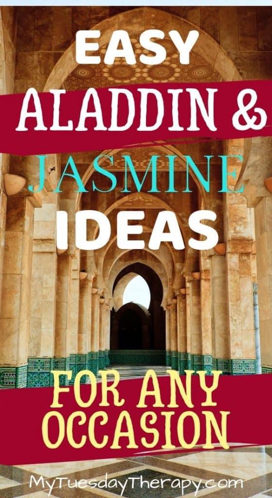 Aladdin And Jasmine Party Ideas Experience The Magic Of