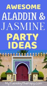 Aladdin and Jasmine Party Ideas